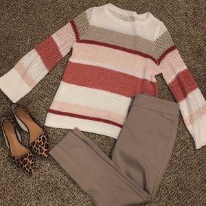 LOFT open knit sweater